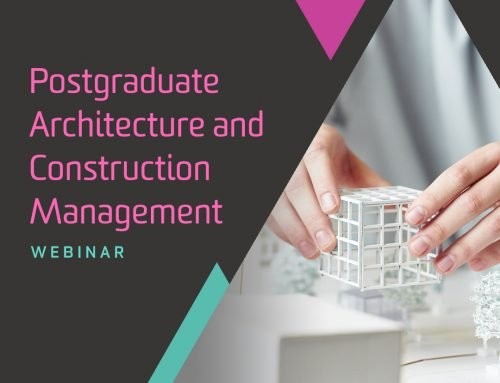 Postgraduate Architecture and Construction Management Webinar – Thursday 14 Oct 2021