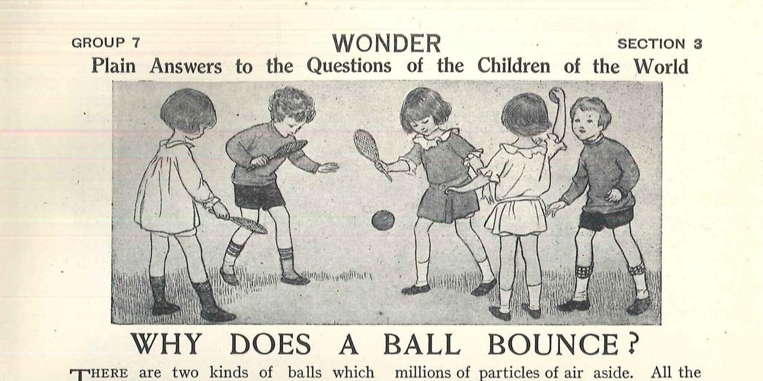 Children's Encyclopaedia blog header