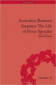 LOWE, D Percy Spender Cover Image