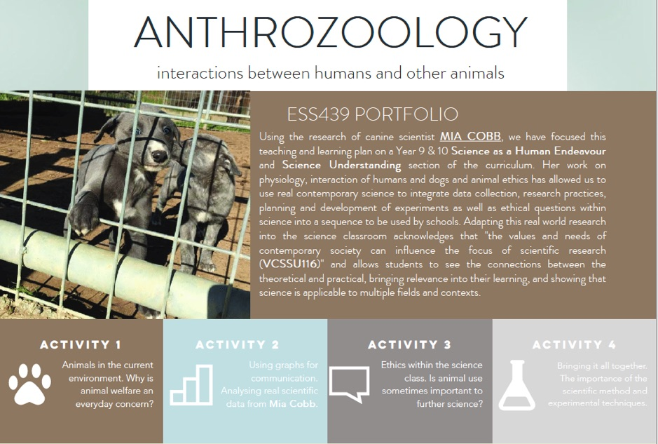 Anthrozoology – Interactions between humans and other animals