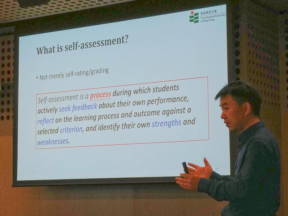 Unpacking student self-assessment processes: CRADLE Seminar
