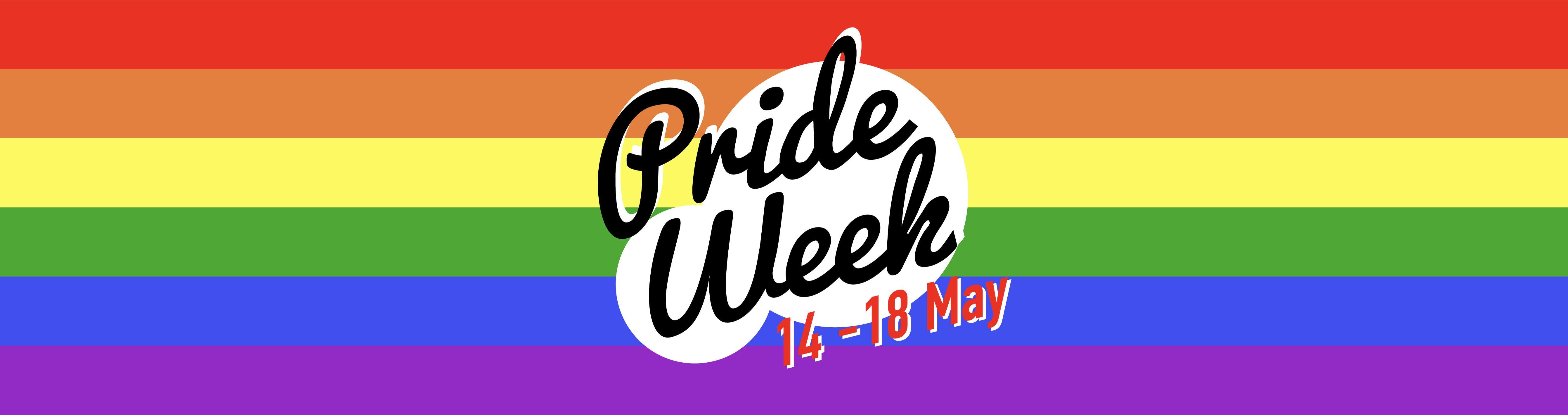 Deakin Pride Week banner
