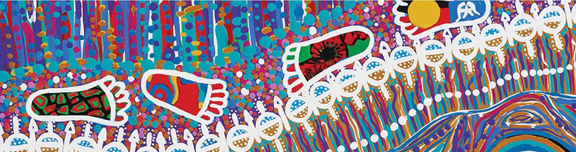 Indigenous artwork for NAIDOC Week