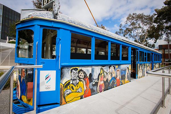 Burwood art tram