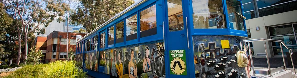 Burwood art tram1