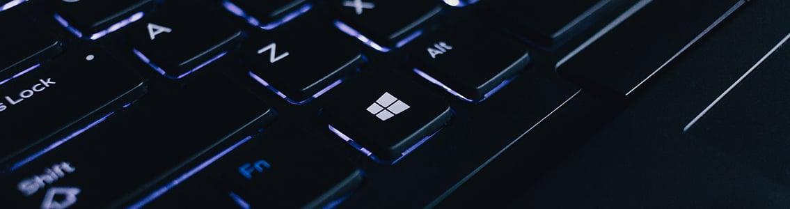 Close-up of keyboard