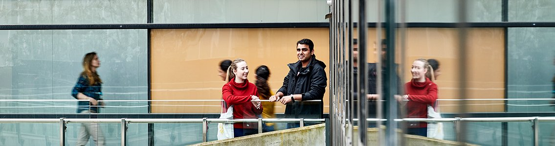 Students at Burwood Campus