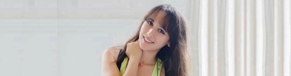 Student Olga Chatzigiannis