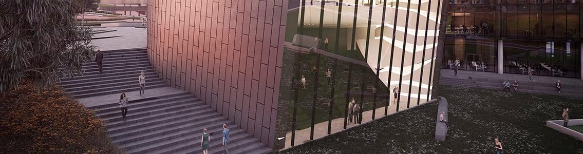 Artist's impression of Building LC, Burwood Campus