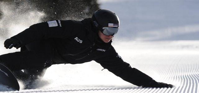 Snowboarder Belle Brockhoff