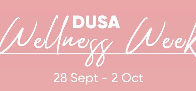 DUSA Wellness Week banner