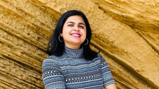 International student Anushree Prasad