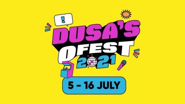 DUSA OFest branding