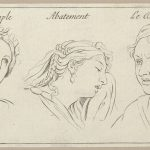 l'Amour simple, Abattement, Le Desir (from Caractères des passions, gravés sur les desseins de l'illustre Monsieur le Brun)