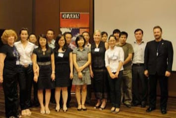 Attendees of the Deakin University Hanoi Alumni Event