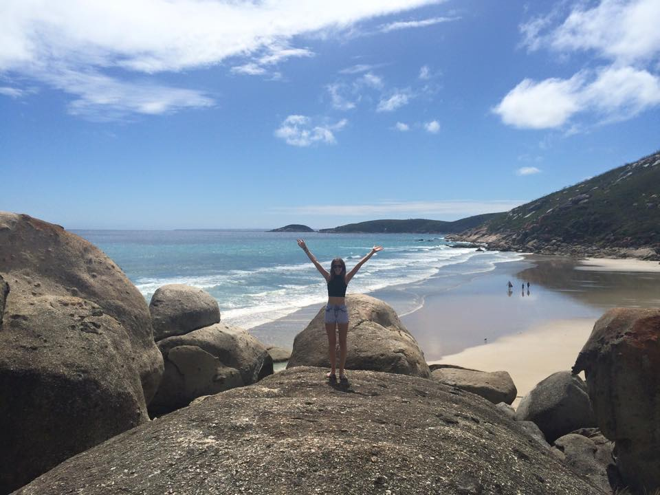 Maria at Wilsons Promontory National Park