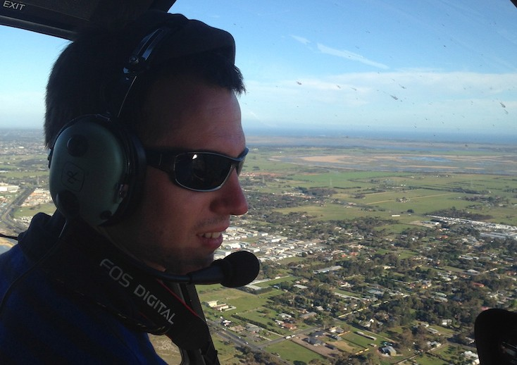 Exploring Geelong from above