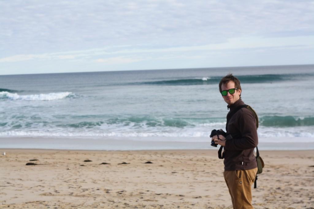 At Johanna Beach in Melbourne