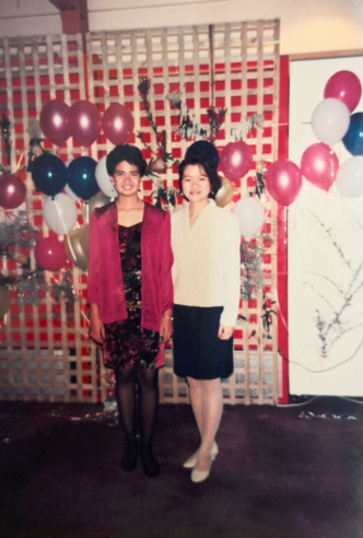 Graduation dinner at Deakins Warrambool Campus (May 1992).
