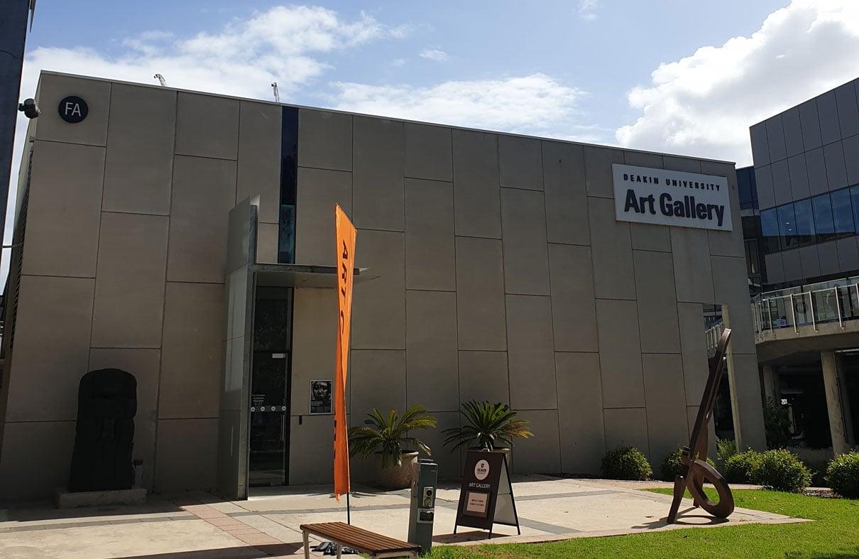 Exploring the Art Gallery at Deakin