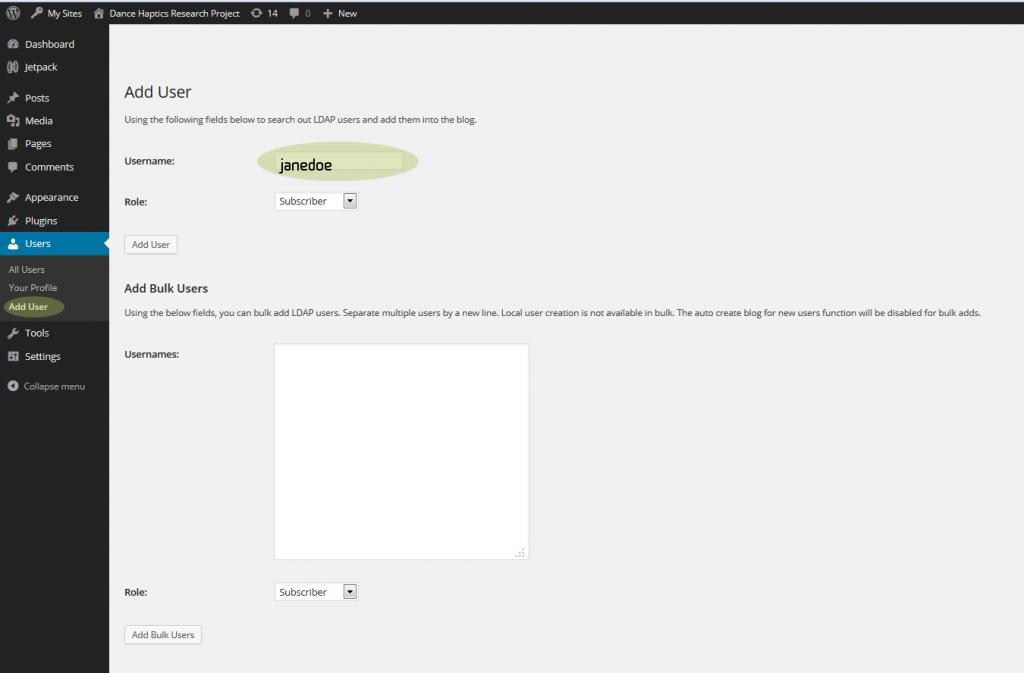 wordpress-add-user